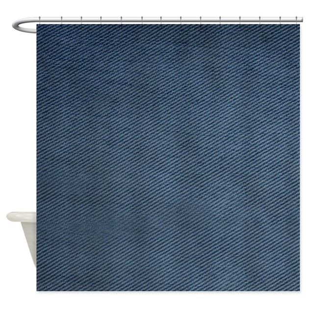 Denim Shower Curtain Shower Curtain By ICandyProducts