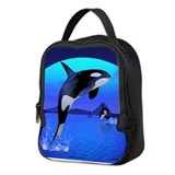 Animal orca Lunch Bags