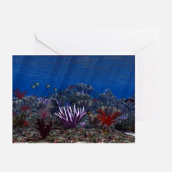 Marine Life Greeting Cards
