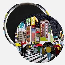 UMBRELLAS IN TOKYO RAIN Magnets