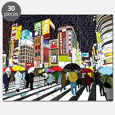 UMBRELLAS IN TOKYO RAIN Puzzle