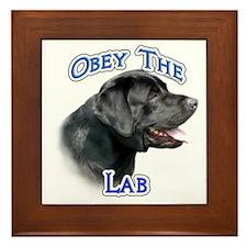 Lab Obey Framed Tile