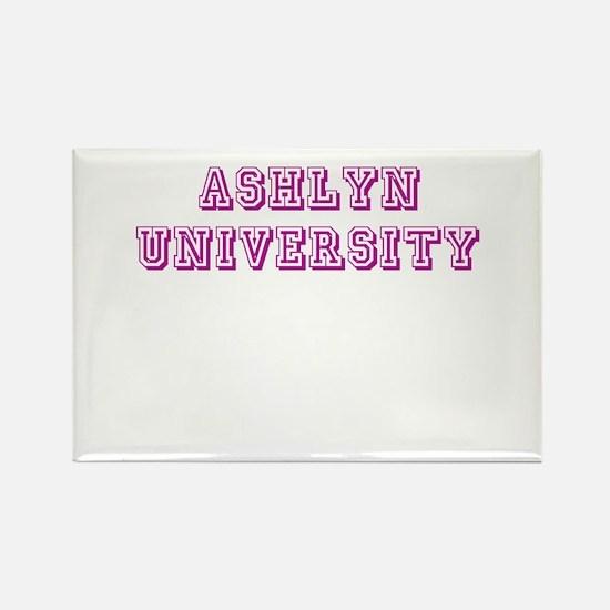 Ashlyn University Rectangle Magnet
