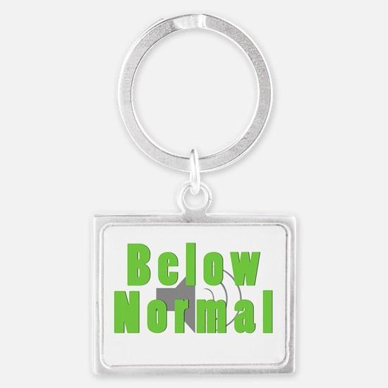 Below Normal Keychains