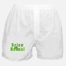 Below Normal Boxer Shorts
