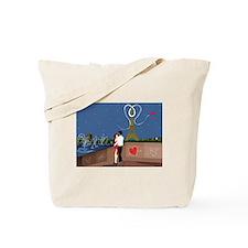 VALENTINE'S IN PARIS Tote Bag