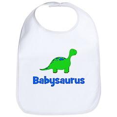 Babysaurus dinosaur Bib