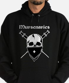 Mursenaries for Dark Backgrounds Hoodie
