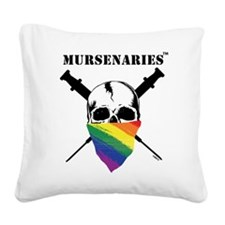 Rainbow.png Square Canvas Pillow