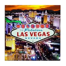Las Vegas Strip South Tile Coaster