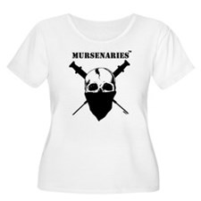 BlackFillonWhite200x200.jpg Plus Size T-Shirt