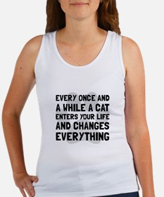 Cat Changes Everything Tank Top