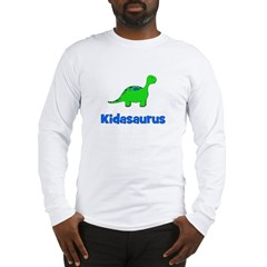 Kidasaurus dinosaur Long Sleeve T-Shirt