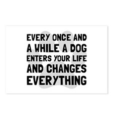 Dog Changes Everything Postcards (Package of 8)