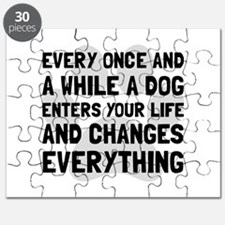 Dog Changes Everything Puzzle