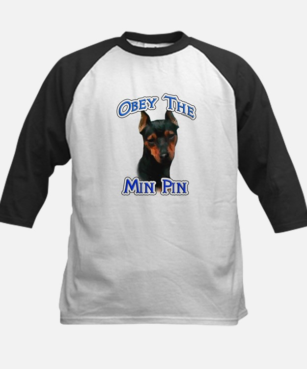 Min Pin Obey Kids Baseball Jersey