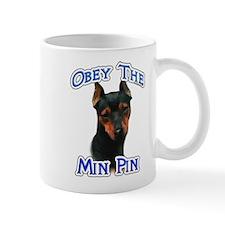 Min Pin Obey Mug