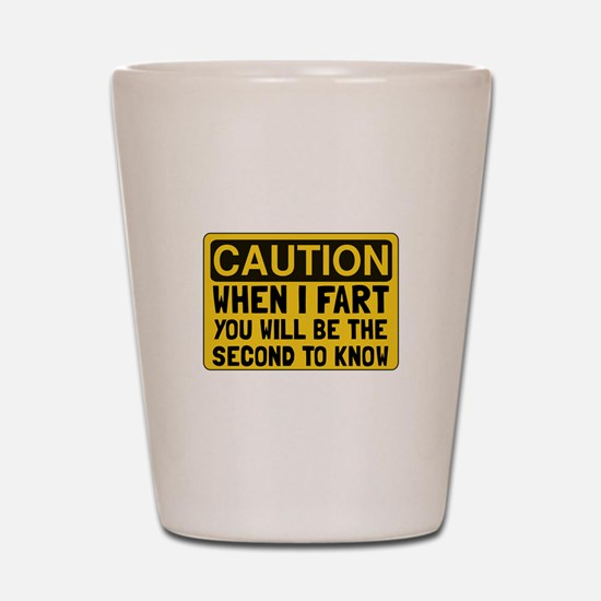 Fart Second Shot Glass