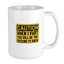 Fart Second Mugs