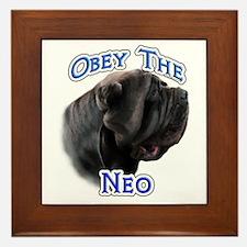 Neo Obey Framed Tile