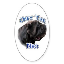 Neo Obey Oval Decal