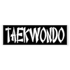 Taekwondo (bumper) Bumper Bumper Sticker