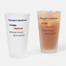Unique Aspergers Drinking Glass