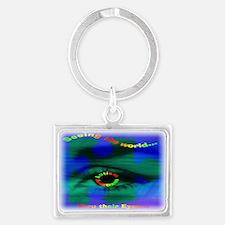 Thru Their Eyes12x9 2.png Keychains