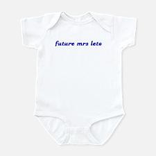 future mrs leto Infant Bodysuit