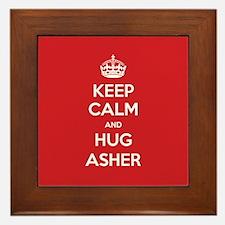 Hug Asher Framed Tile