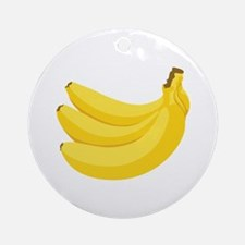 Bunch of Bananas Ornament (Round)