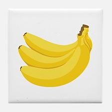 Bunch of Bananas Tile Coaster
