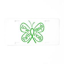 Mental Health Aluminum License Plate