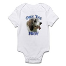 PBGV Obey Infant Bodysuit