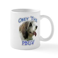 PBGV Obey Mug