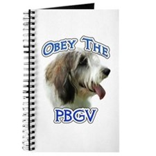 PBGV Obey Journal