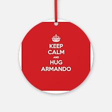 Hug Armando Ornament (Round)