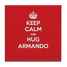 Hug Armando Tile Coaster