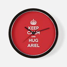 Hug Ariel Wall Clock