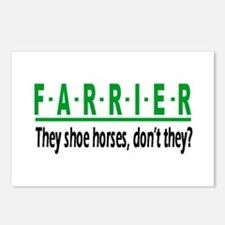 FARRIER Postcards (Package of 8)