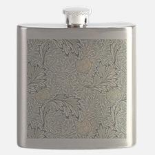 William Morris Apple Flask