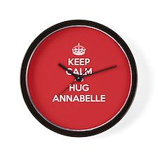 Hug Annabelle Wall Clock