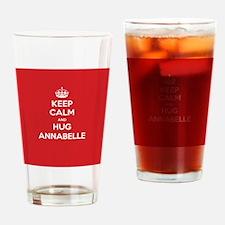 Hug Annabelle Drinking Glass