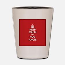 Hug Angie Shot Glass