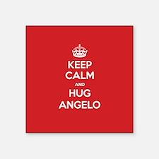 Hug Angelo Sticker