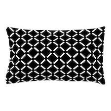 White Diamond Patterned Pillow Case