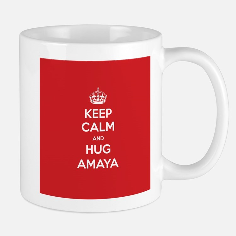 Hug Amaya Mugs