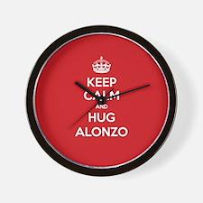 Hug Alonzo Wall Clock