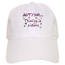 Thinking in pictures.png Baseball Baseball Cap