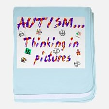 Thinking In Pictures.png Baby Blanket